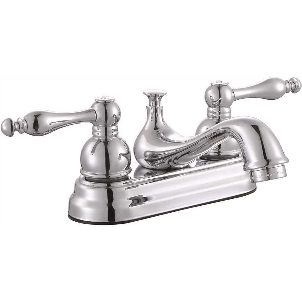 Premier Wellington 4 in. Centerset 2-Handle Bathroom Faucet in ...