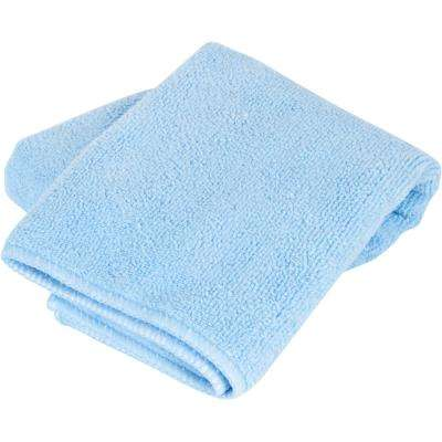 18 in. x 18 in. Microfiber Grouting, Cleaning and Polishing Cloth for Multi-Surface Use