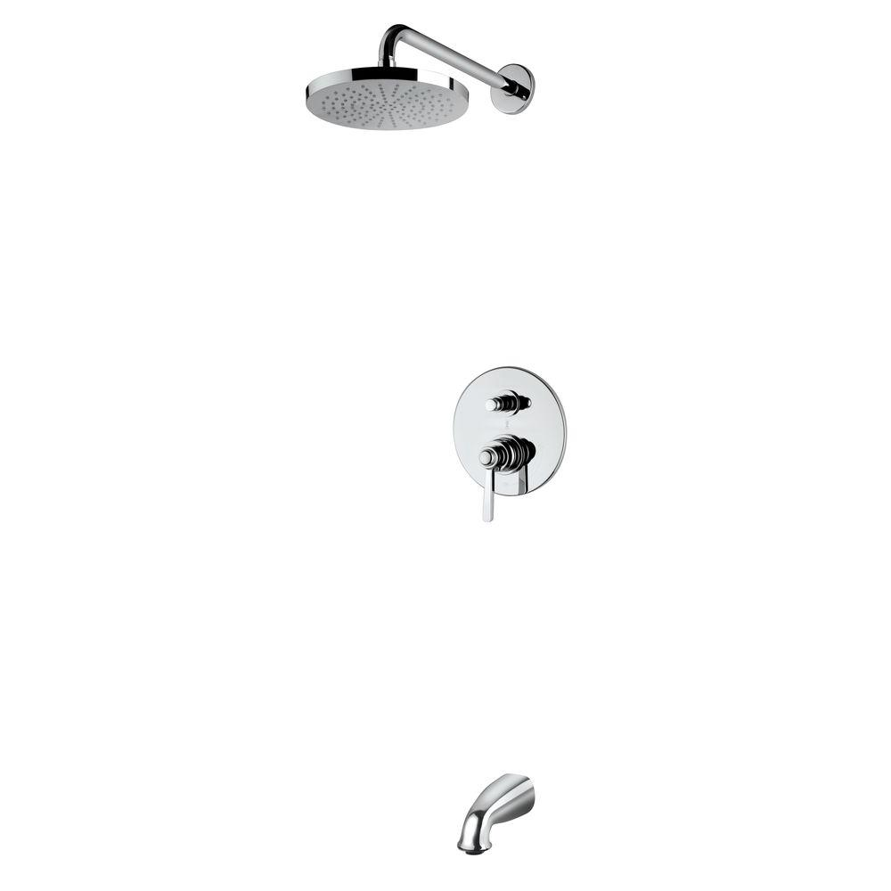 Built-in Water Filter - Bathtub & Shower Faucet Combos - Bathtub ...