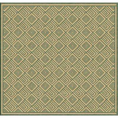 Green - Square 7\' and Larger - Outdoor Rugs - Rugs - The Home Depot
