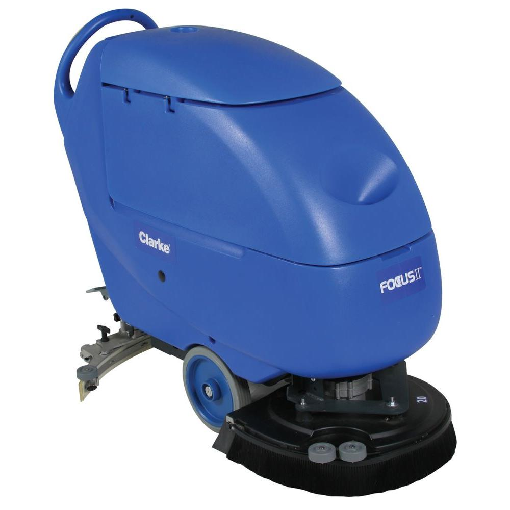 Clarke Focus II L Disc Commercial Walk Behind Automatic Scrubber - Floor scrubers
