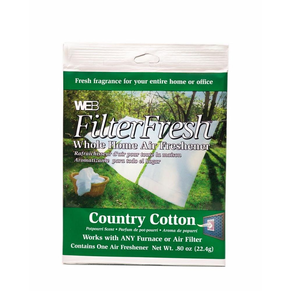 Web Filter Fresh Country Cotton Whole Home Air Freshener