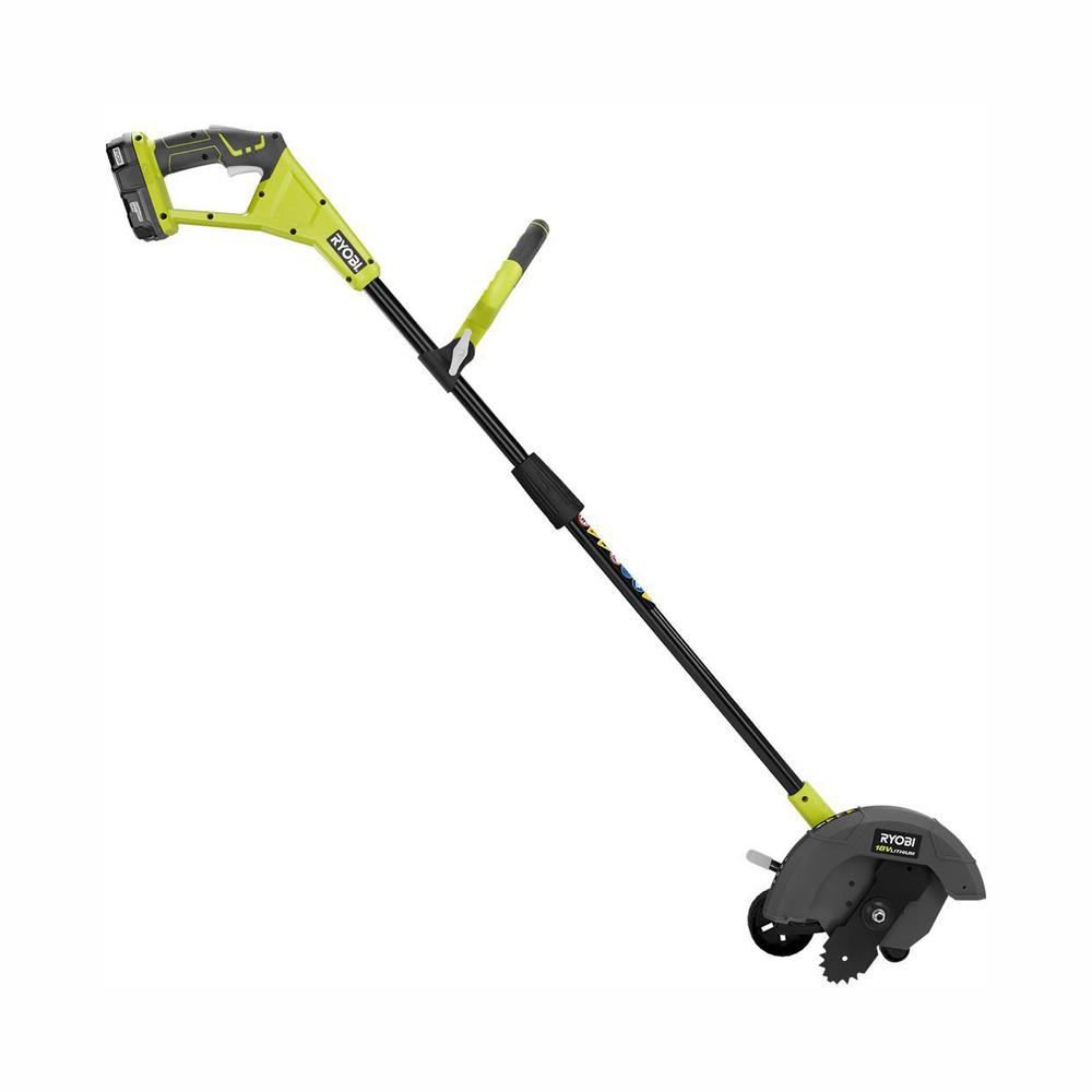 RYOBI 18-Volt Reconditioned ONE+ 9 in  Lithium-Ion Cordless Edger