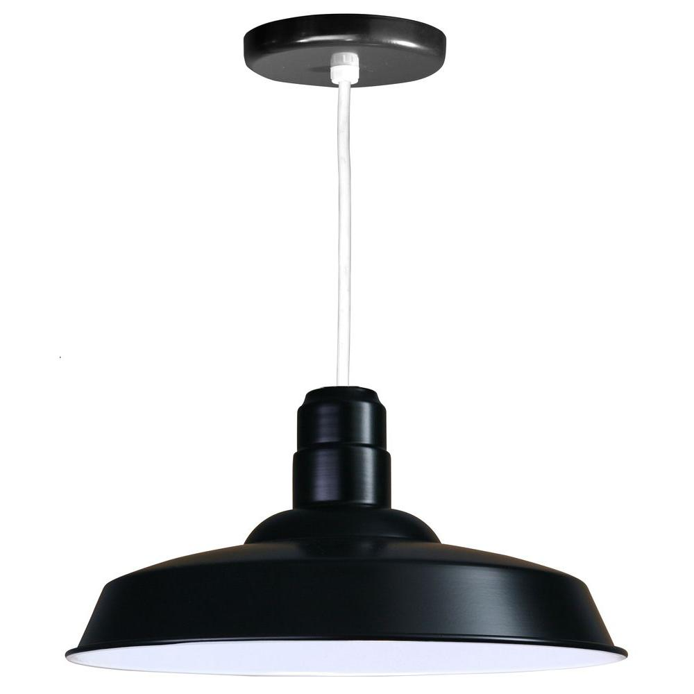 Illumine 1 Light Ceiling White Pendant