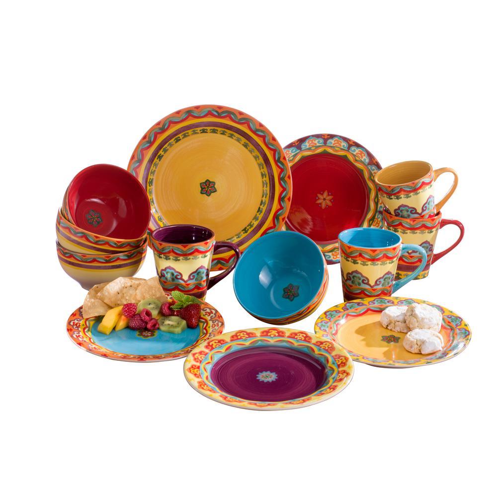 Galicia 16-Piece Dinnerware Set