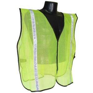 Radians Safety Vest Green Mesh 1 inch Tape by Radians
