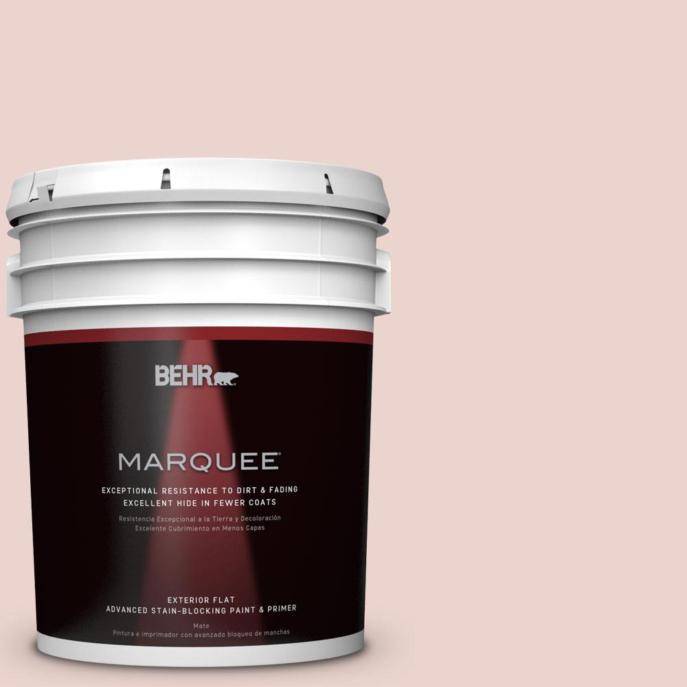 5-gal. #S170-1 Ole Pink Flat Exterior Paint