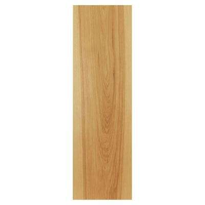 0.1875x36x11.25 in. Cabinet End Panel in Natural Hickory (2-Pack)