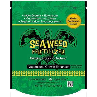 Seaweed 1 lb. Organic Powder Fertilizer Bag