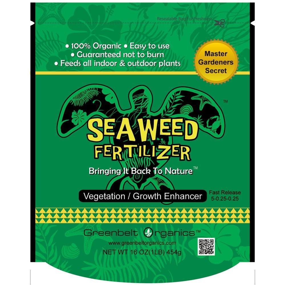 Seaweed 1 lb. Organic Powder Fertilizer Bag