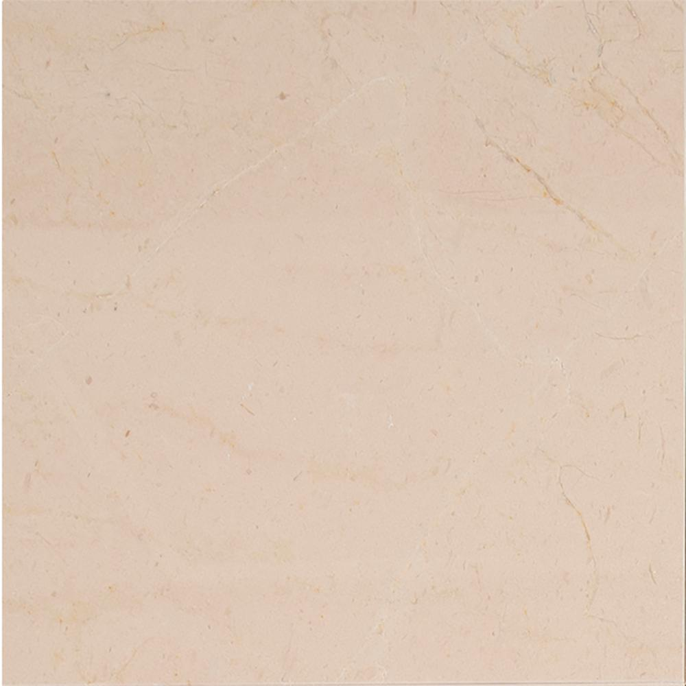 Msi Crema Marfil 12 In X Polished Marble Floor And Wall Tile