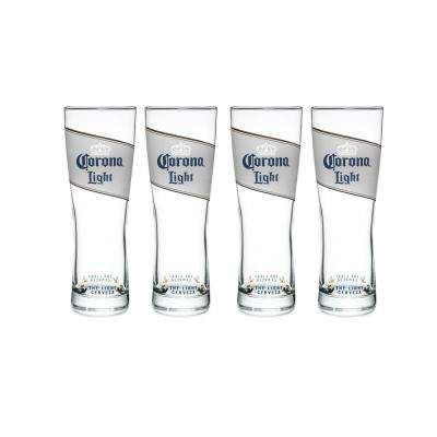 Corona Light 16 oz. Pilsner Glass (Set of 4)