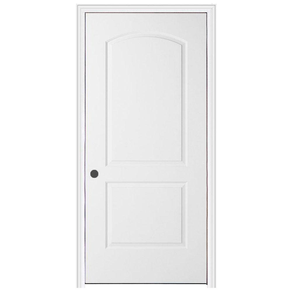 JELD-WEN 30 In. X 80 In. Continental Primed Right-Hand