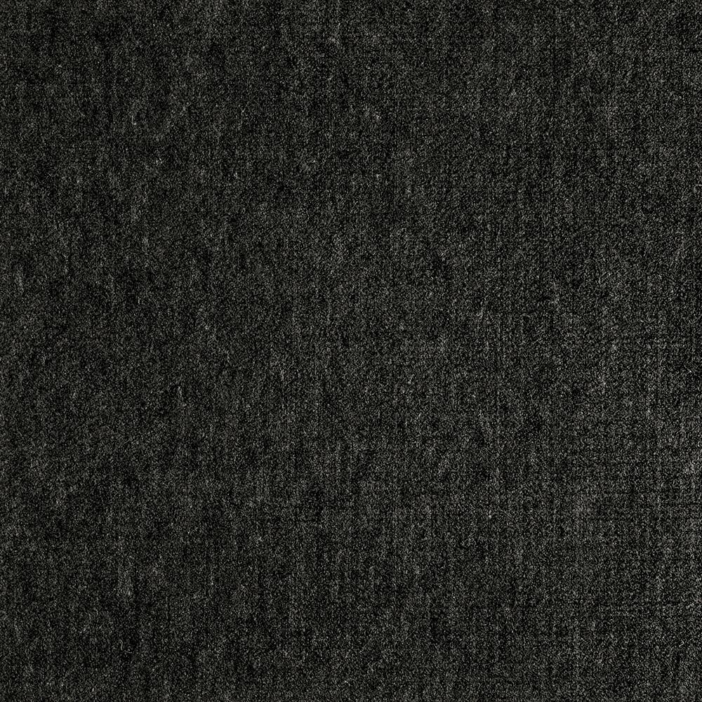 Fedora Charcoal Texture 19.7 in. x 19.7 in. Carpet Tile (6