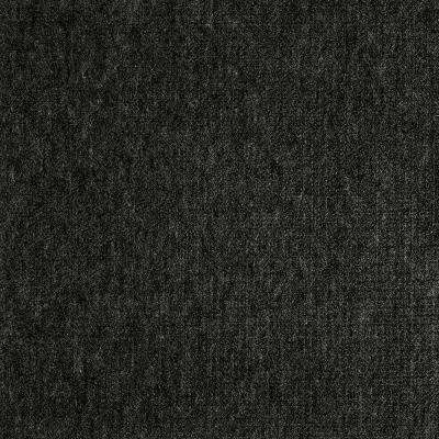 Fedora Charcoal Texture 19.7 in. x 19.7 in. Carpet Tile (6 Tiles/Case)