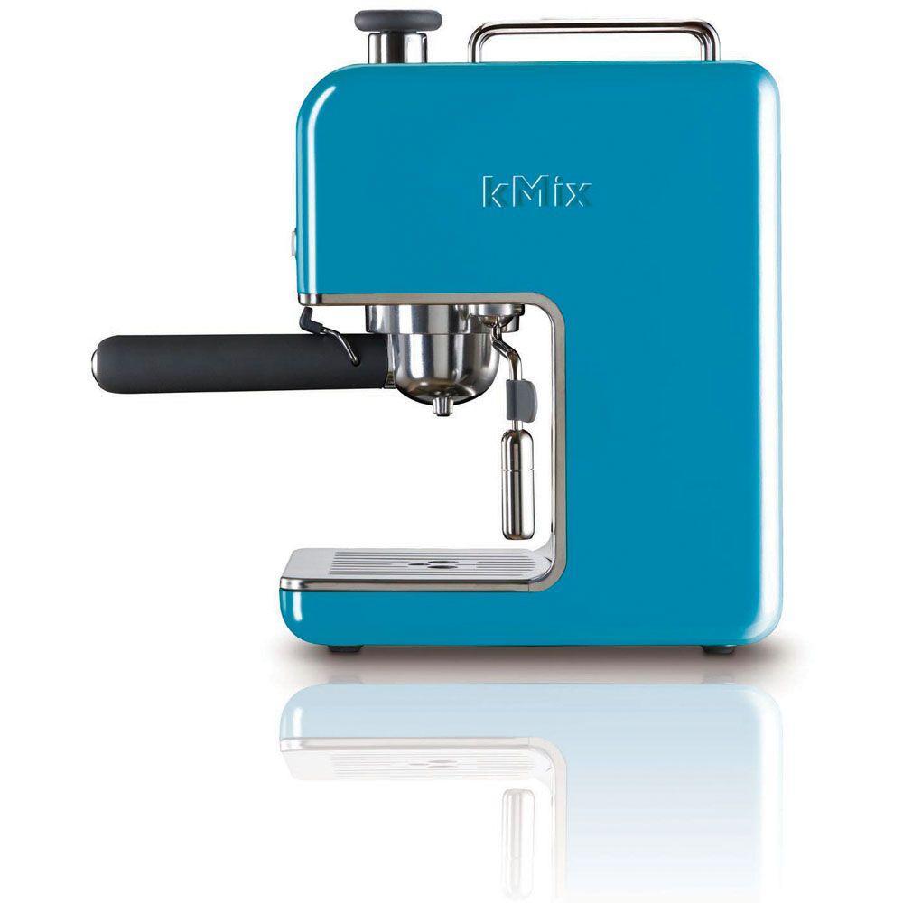 DeLonghi kMix 15 Bar Pump Espresso Maker in Blue-DISCONTINUED