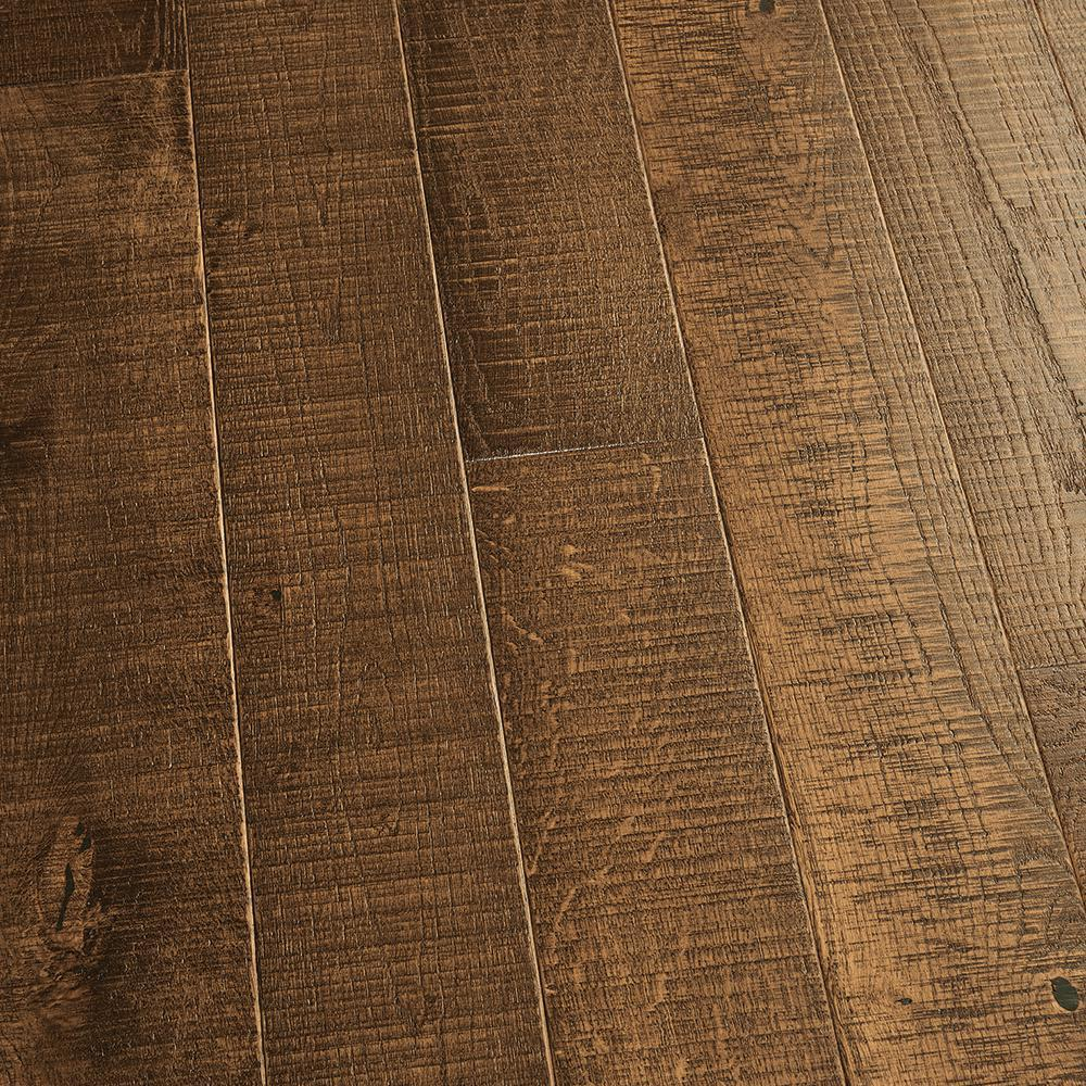 Malibu Wide Plank Take Home Sample French Oak Monterey Solid Hardwood Flooring 5 In. X 7 In.