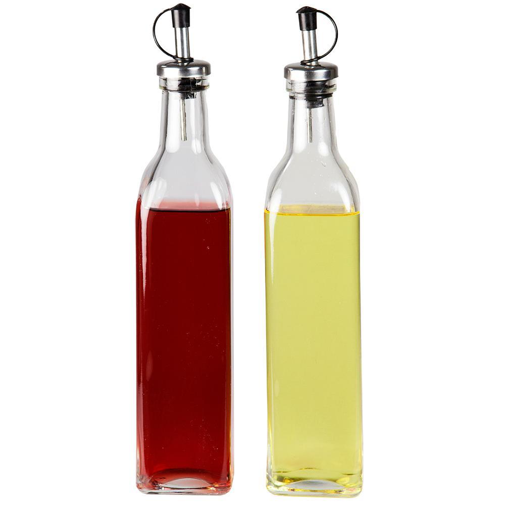 Oil and Vinegar Dispensing Bottle Set