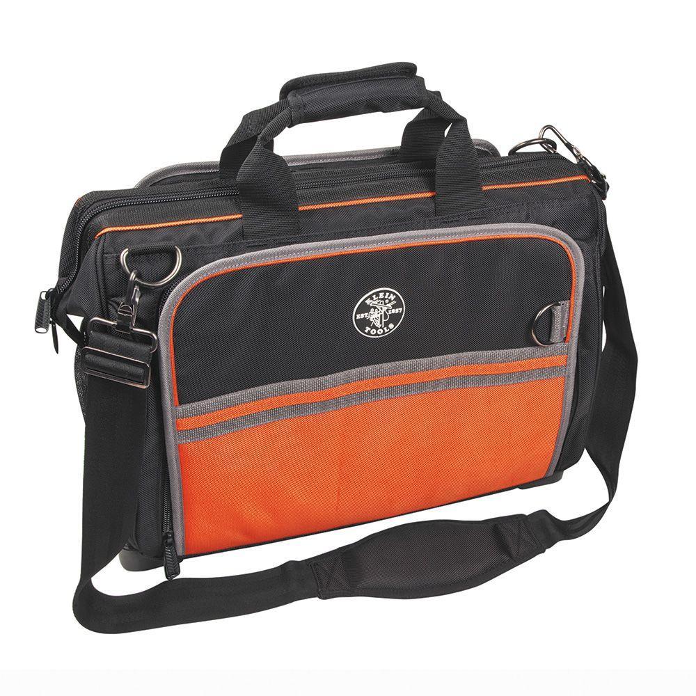 Tradesman Pro 19 in. Ultimate Electrician's Tool Bag, Black