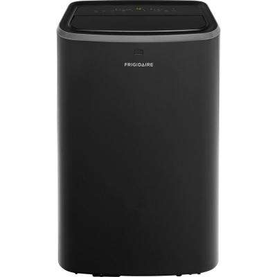 14,000 BTU (8,100 BTU, DOE) Portable Air Conditioner for Rooms up to 700 sq. ft. in Black