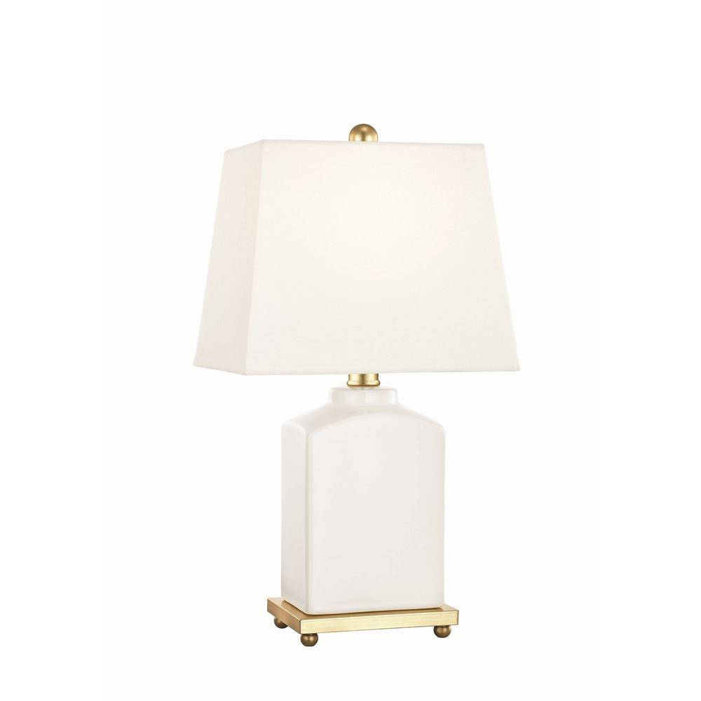 Mitzi By Hudson Valley Lighting Brynn 17 In. High Cloud Table Lamp With Off  White