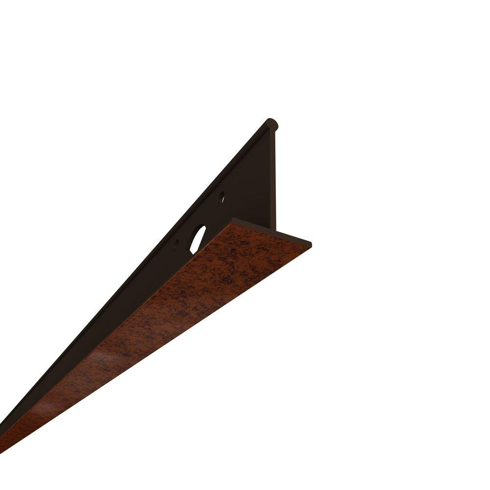 HG Grid 100 sq. ft. Moonstone Copper PVC Suspended Ceiling Grid Kit