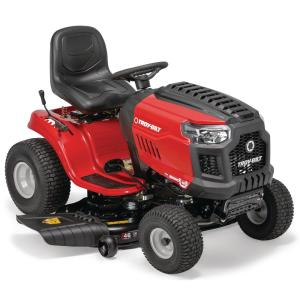 69d30e25 Troy-Bilt Bronco 46 in. 679 cc V-Twin OHV Engine Automatic Drive Gas Lawn  Tractor Riding Mower with Mow in Reverse-Bronco 46T - The Home Depot