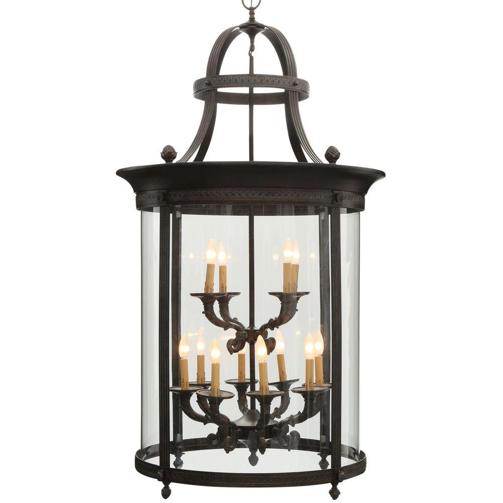 World Imports Chatham Collection 12-Light French Bronze Outdoor ...