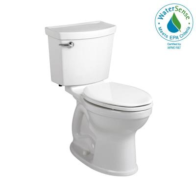 Champion 4 Max Tall Height 2-piece High-Efficiency 1.28 GPF Single Flush Elongated Toilet in White, Seat Not Included