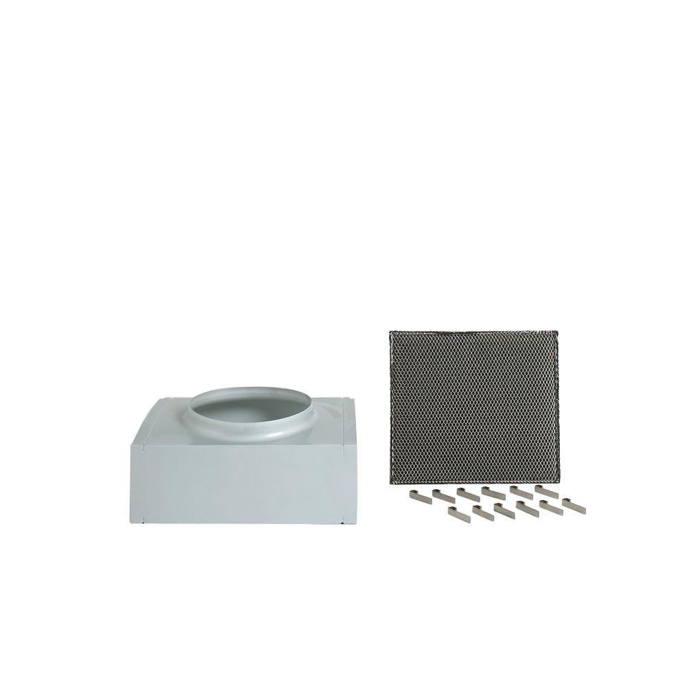 Recirculating Kit for Dekor Glass 30 in. x 36 in. Range Hoods Using 8 in. Ducting