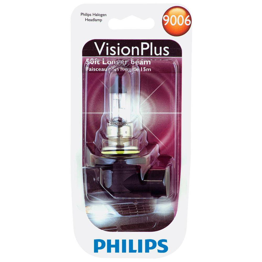 Philips Visionplus 9006 Headlight Bulb (1-Pack)