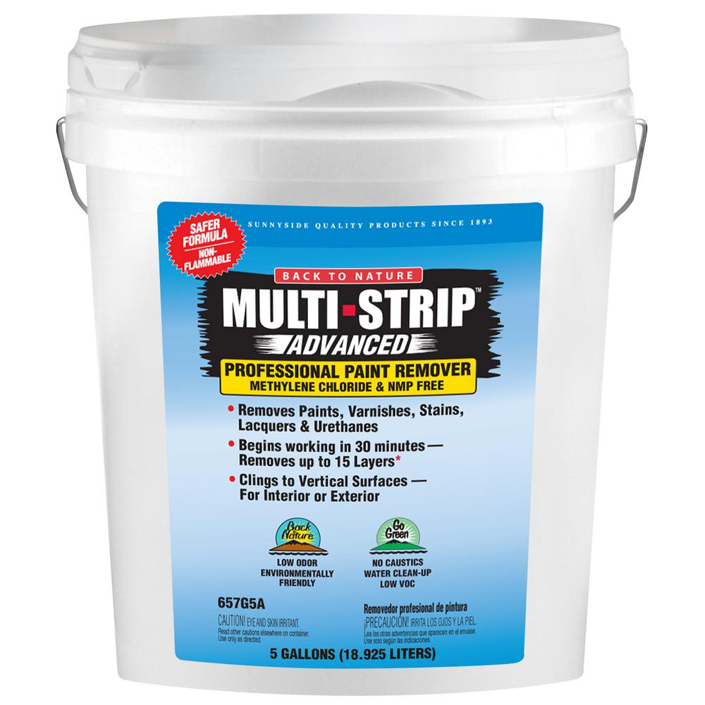 MULTI-STRIP Advanced Series 5 gal. Multiple Layer Paint and Varnish Remover