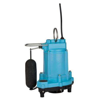6EC-CIA-SFS 1/3 HP Submersible Cast Iron Pump with Plastic Base