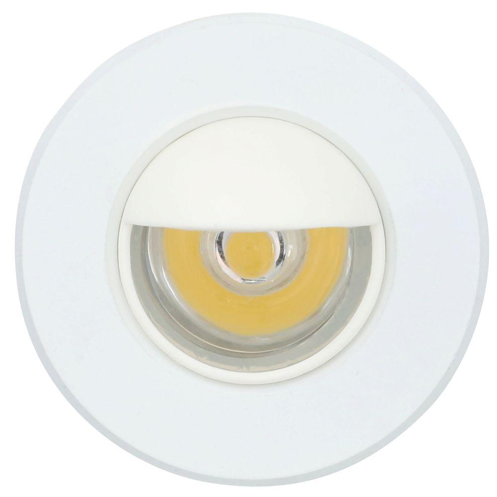 Armacost Lighting Mini Warm White Integrated LED Recessed Puck Light ...