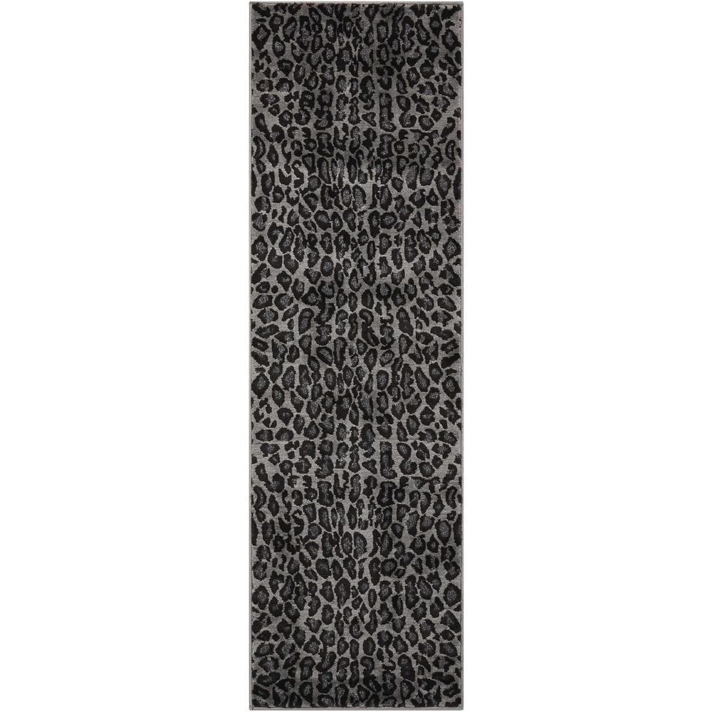 Nourison Studio Charcoal 2 ft. x 7 ft. Runner Rug