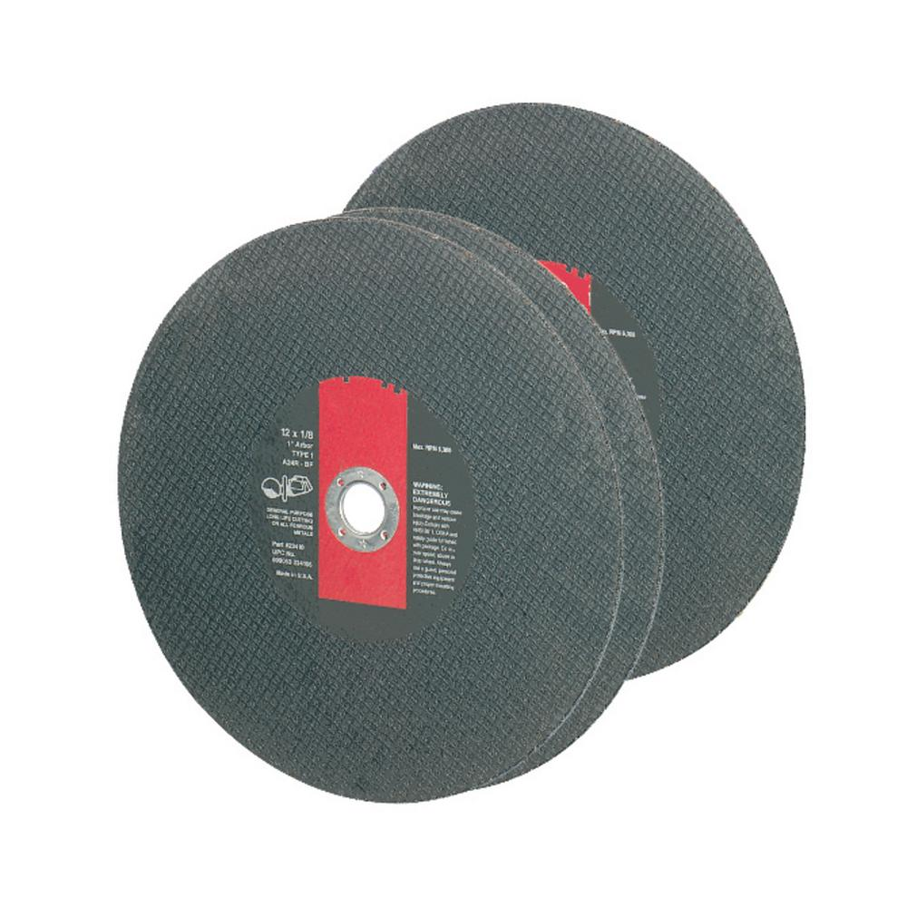 14 in. x 1/8 in. Premium Abrasive Blade for Hand Held