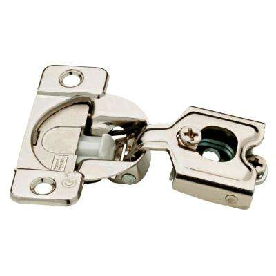 35 mm 105-Degree 1-1/4 in. Overlay Soft Close Cabinet Hinge (5-Pairs)