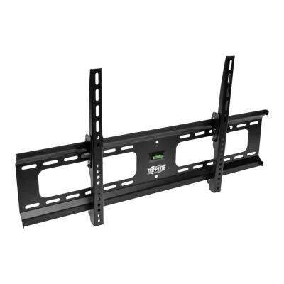 Heavy-Duty Tilt Wall Mount for 37 in. to 80 in. TVs and Monitors, Flat or Curved Screens, UL Certified, Black