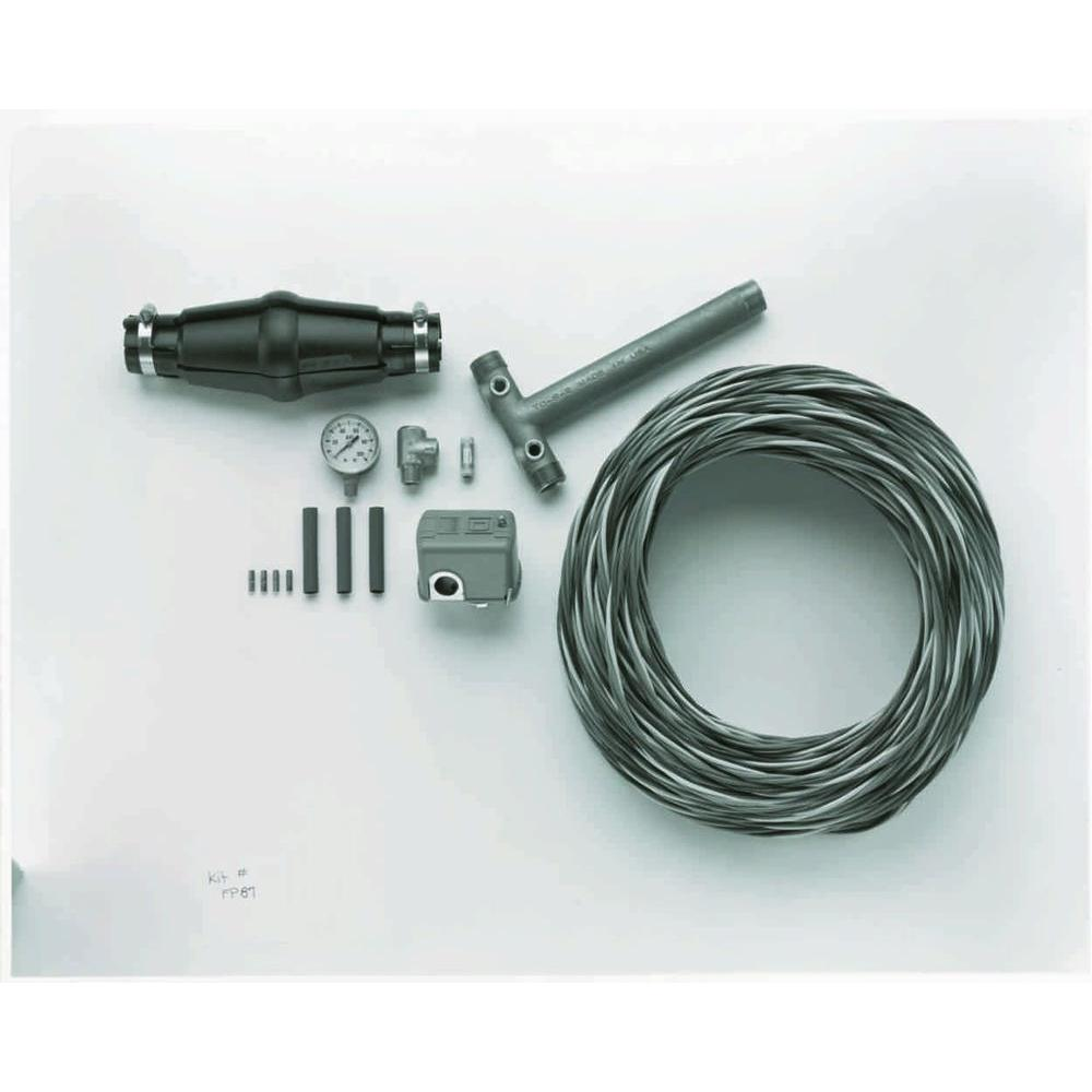 Parts20 150 ft. Installation Wiring Kit for 3-Wire Submersible Pumps