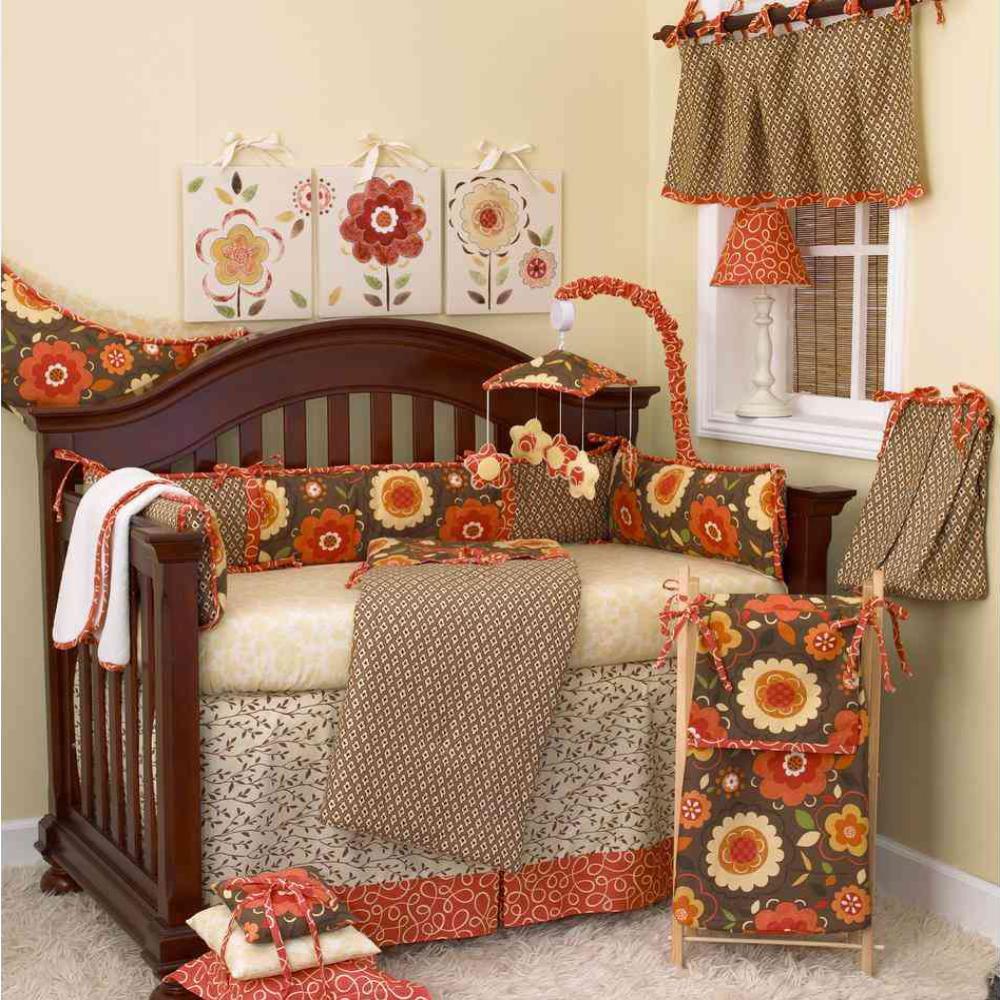 c849d4744 Cotton Tale Designs Peggy Sue Floral 4-Piece Crib Bedding Set PS4S ...