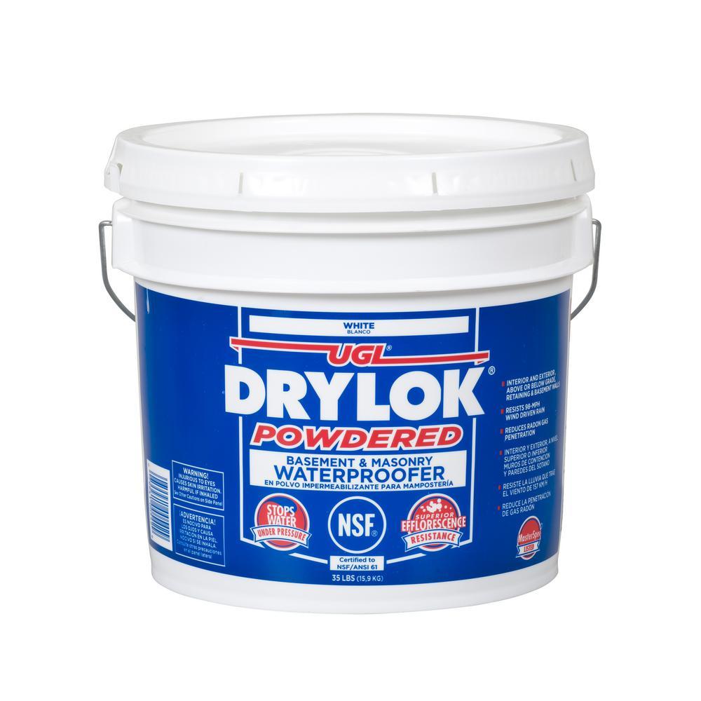 35 lb. White Powdered Masonry Waterproofer