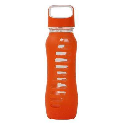 22 oz. Surf Single Wall Glass Bottle - Orange Slice