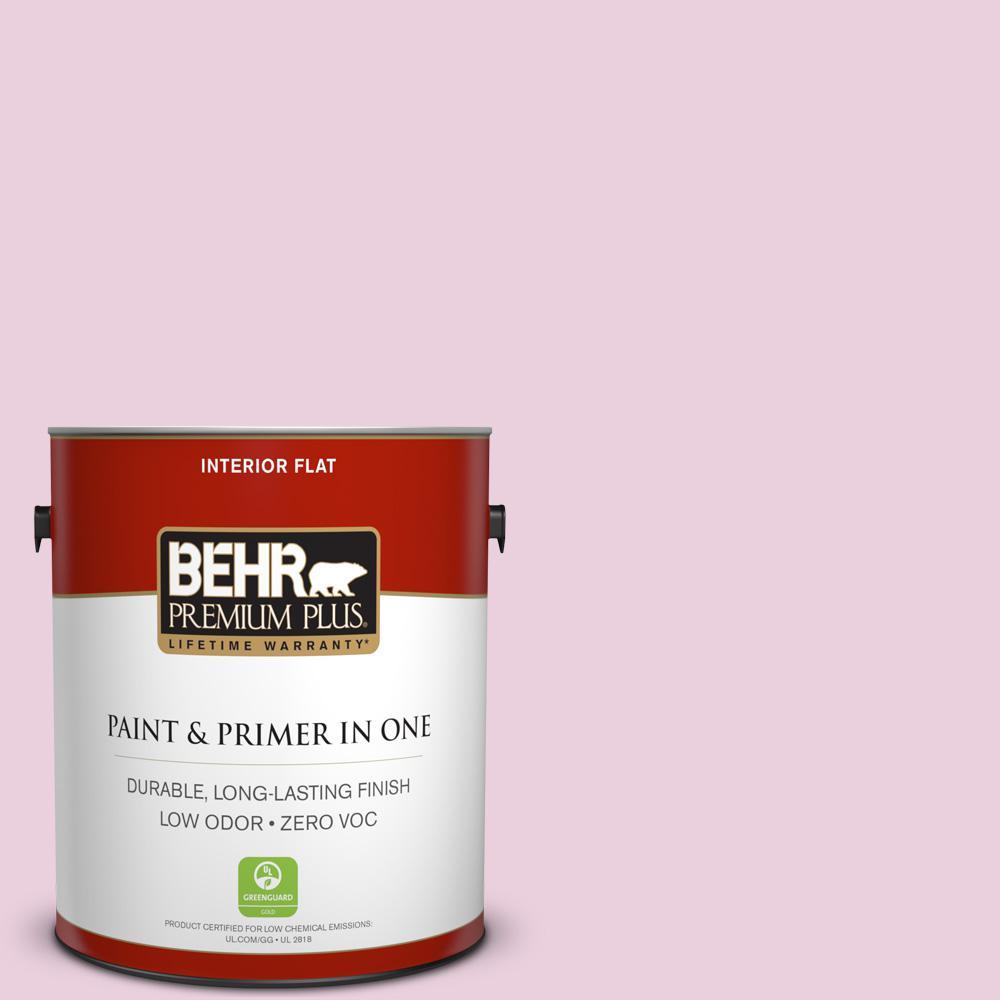 BEHR Premium Plus 1-gal. #M130-2 Creamy Freesia Flat Interior Paint