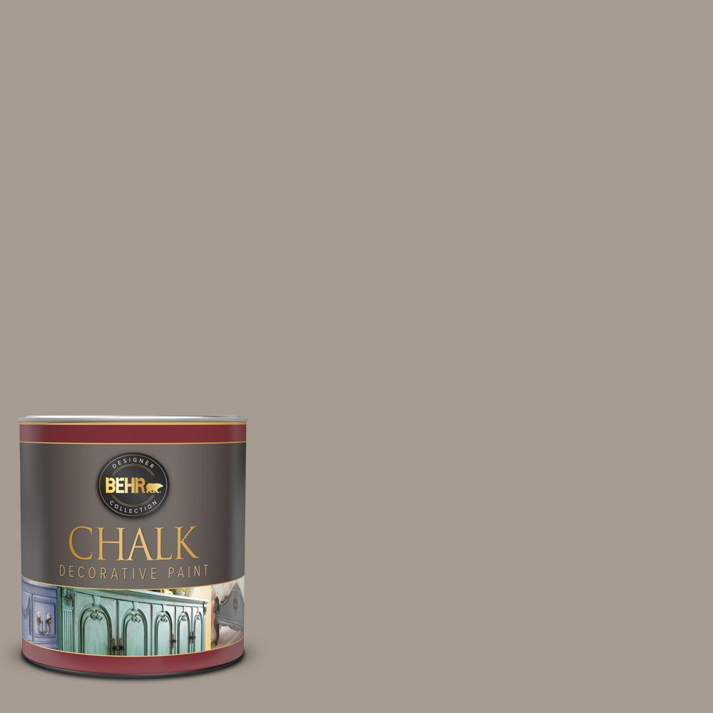 BEHR 1 qt. #N200-4 Rustic Taupe Interior Chalk Decorative Paint
