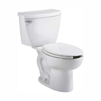 Cadet FloWise Tall Height Pressure-Assisted 2-piece 1.1 GPF Elongated Toilet in White, Seat Not Included