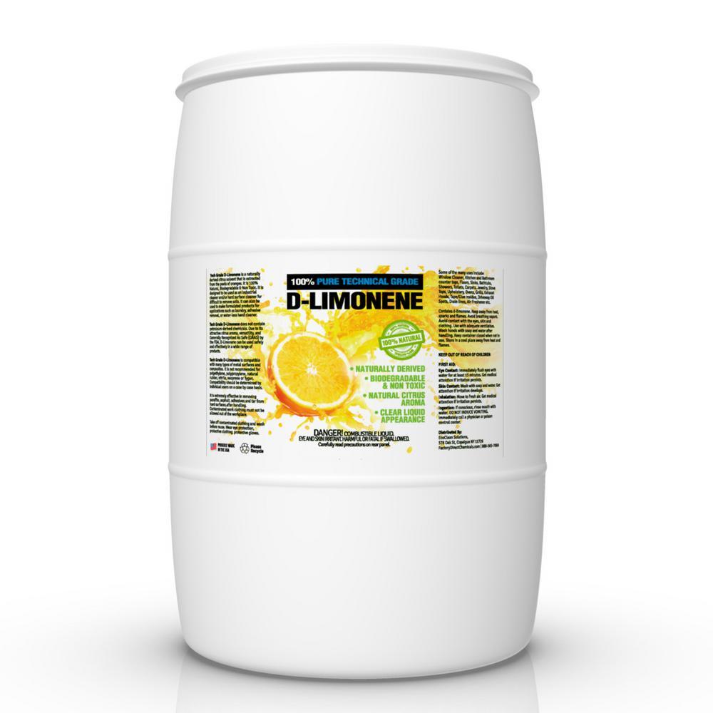 55 Gal. 100% Natural Tech Grade D-Limonene