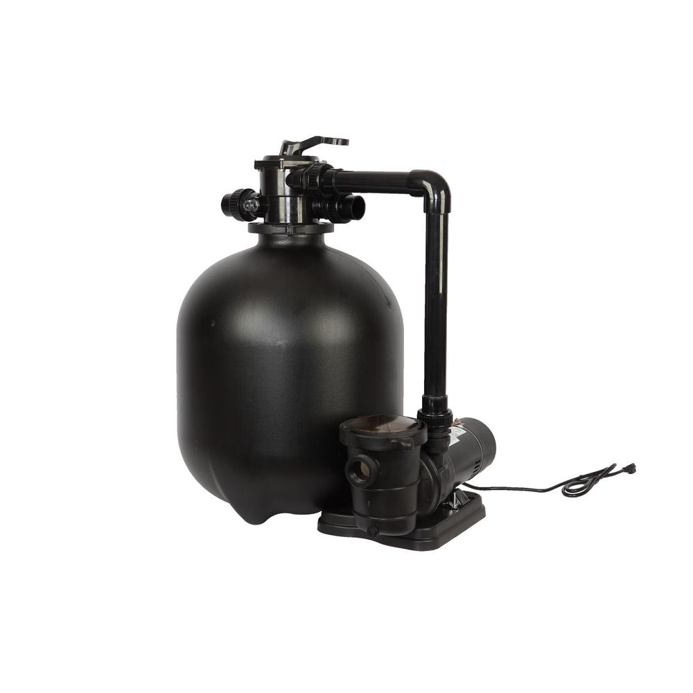 Pro 22.9 in. 300 lbs. Sand Filter System with 1.5 HP