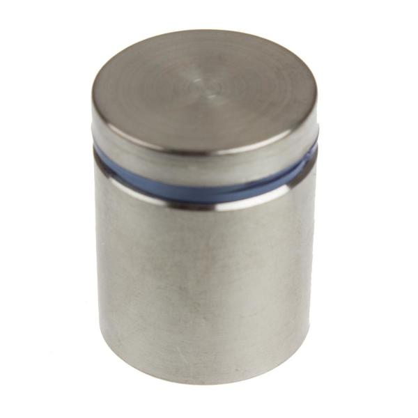1 in. Dia x 1 in. L Stainless Steel Standoffs for Signs (4-Pack)