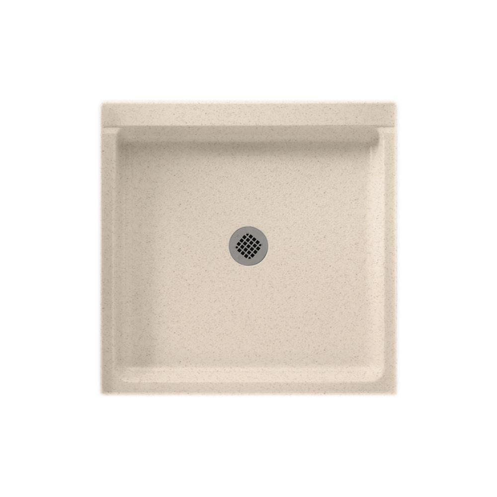 SWAN 36 In. X 36 In. Solid Surface Single Threshold Cente.