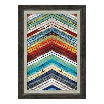 """Going Up"" by Ruth Palmer Framed Canvas Wall Art"